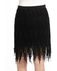 35c9e1cd2c River Island Black Embellished Wrap Midi Skirt in Black - Lyst