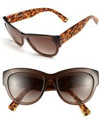 Dior Brown Sunglasses - Lyst