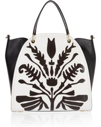 Maiyet - Peyton Large Lasercut Leather Shopper - Lyst