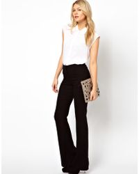 ASOS Collection Asos Skinny Flare Trousers - Lyst