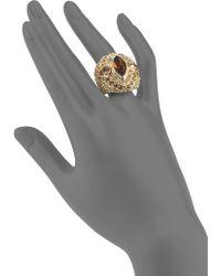 Judith Leiber Swarovski Crystal Maharishi Ring - Lyst