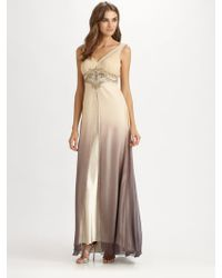 Sue Wong Ombre Gown - Lyst