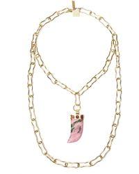 Kelly Wearstler - Large Horn Necklace - Lyst