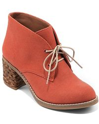 Lucky Brand - Lace Up Ankle Booties Hale - Lyst