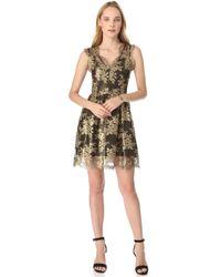 Madison Marcus - Glimmer Deep V Neck Dress - Lyst