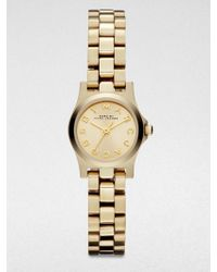 Marc By Marc Jacobs Two-Tone Stainless Steel Bird Cutout Watch - Lyst