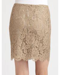 Ralph Lauren Black Label Lace Kasey Skirt - Lyst