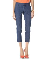 Alice + Olivia Stacey Skinny Pants - Lyst