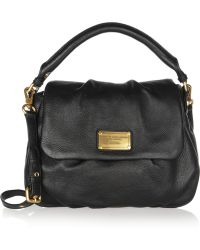 Marc By Marc Jacobs Classic Q Lil Ukita Textured-Leather Shoulder Bag - Lyst