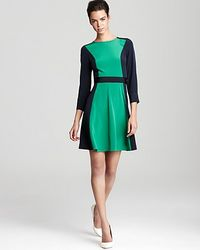 Marc By Marc Jacobs Dress Avery Cdc Color Block - Lyst