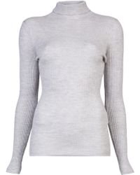 Mus - Ribbed Turtleneck - Lyst