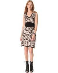 Viva Vena - Cheetah Sweater Dress - Lyst