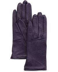 Grandoe - Cashmere Lined Sheepskin Gloves - Lyst