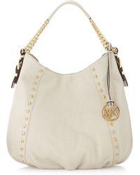 Michael Michael Kors Middleton Medium Leather Shoulder Bag 66