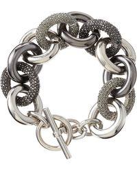 MICHAEL Michael Kors - Punk Mixed Link Bracelet - Lyst