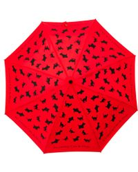 Boutique Moschino - Its Raining Cats and Dogs Umbrella - Lyst