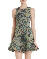 Antipodium - Jungle Embroidered Dress - Lyst