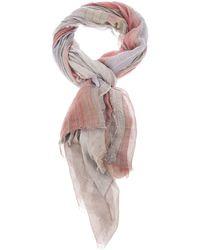 Faliero Sarti Striped Scarf - Lyst