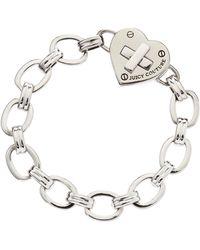 Juicy Couture Turnlock Heart Starter Bracelet