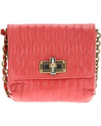 Lanvin Small Quilted Shoulder Bag - Lyst