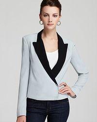 Diane von Furstenberg Jacket Pamela Soft Canvas - Lyst