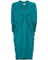 Lanvin Kimono Dress - Lyst