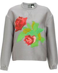 Mother Of Pearl  Wool Kishi Sweatshirt gray - Lyst