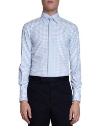 Thom Browne Oxford Graph Check Dress Shirt - Lyst
