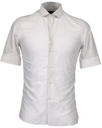 Emporio Armani Short Sleeve Shirt - Lyst