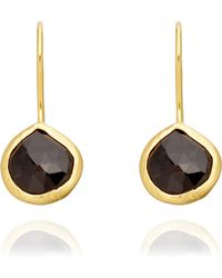 Coralia Leets - Black Onyx Mykonos Earrings - Lyst