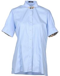 Daks - Short Sleeve Shirt - Lyst