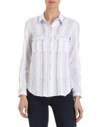 Etoile Isabel Marant Layne Shirt white - Lyst