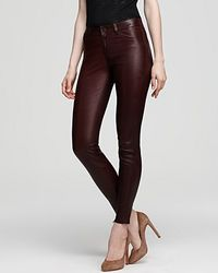 Ash - Vince Jeans Stretch Leather Washed Jeans - Lyst