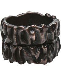 Tamara Akcay - Bronze Wide Ring - Lyst