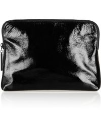 3.1 Phillip Lim 31 Minute Patentleather and Leather Clutch - Lyst