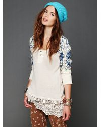 Free People Cozy Time Tunic - Lyst