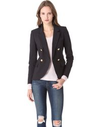 Juicy Couture Sharp Suiting Blazer black - Lyst