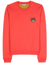 Kenzo Logo Embroidered Pullover - Lyst