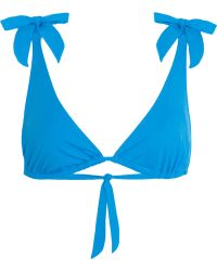 Violet Lake - Elektra Bikini Top - Lyst