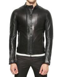 Belstaff Nappa Leather Jacket black - Lyst