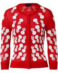 L'Wren Scott Sequined Cashmere-blend Cardigan - Lyst