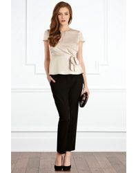 Coast Ennis Peplum Top - Lyst