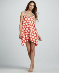 Marc By Marc Jacobs Sparksprint Coverup Dress - Lyst
