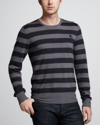 Burberry Brit | Striped Merino Sweater | Lyst