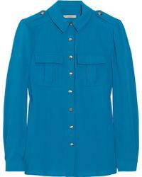 Burberry Brit - Stretch-twill Shirt - Lyst