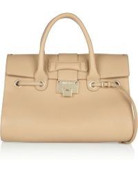 Jimmy Choo Rosalie Leather Tote - Lyst
