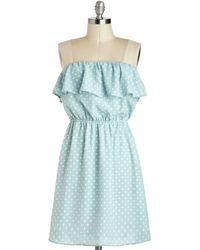 ModCloth The Very Dot Of You Dress - Lyst