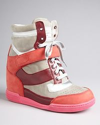 Marc By Marc Jacobs Wedge High Top Sneakers - Lyst