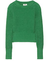 Acne Studios Chunky Knit Cotton Sweater - Lyst
