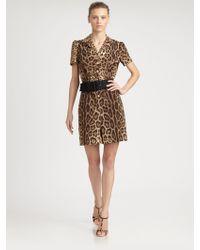 Dolce & Gabbana Leopard Jumpsuit - Lyst